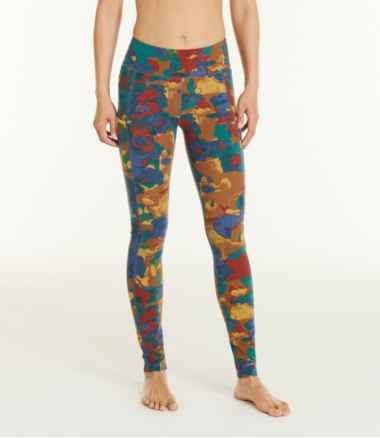Women's Boundless Performance Pocket Tights, Print