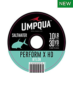 Umpqua Perform X HD Saltwater Nylon Tippet, 30 yards