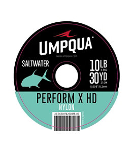 Umpqua Perform X HD Saltwater Nylon Tippet, 30 yards
