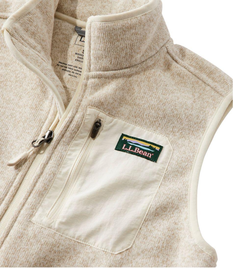Women's L.L.Bean Sweater Fleece Long Vest