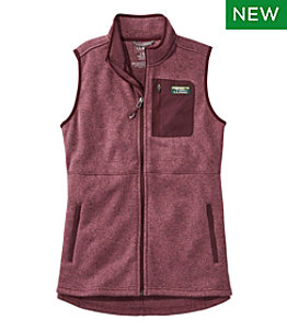 Women's L.L.Bean Sweater Fleece Long Vest