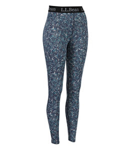 Women's L.L.Bean Lightweight Base Layer Pants, Print