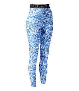 Women's L.L.Bean Lightweight Base Layer Pants, Print