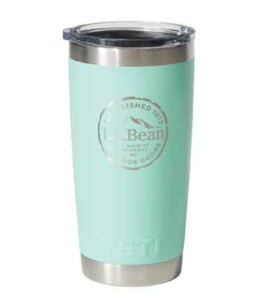 L.L.Bean Yeti Rambler Tumbler, Cut Log 20 oz.