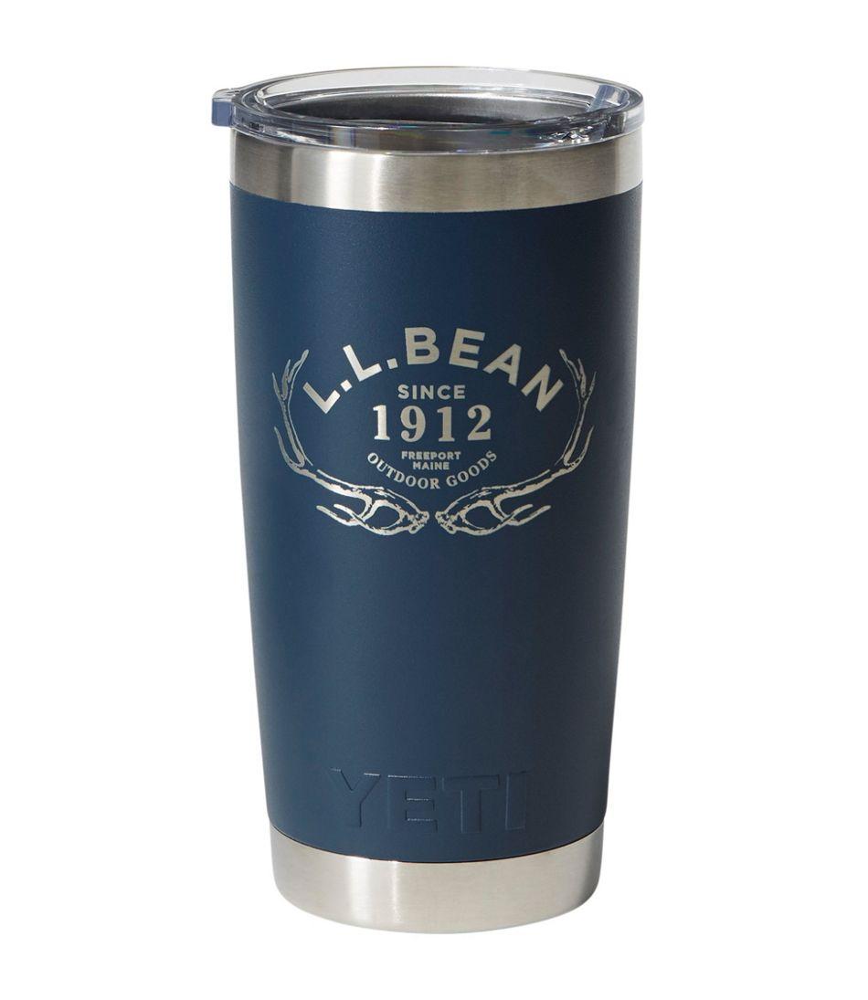 L.L.Bean Yeti Rambler Tumbler, Antler 20 oz.