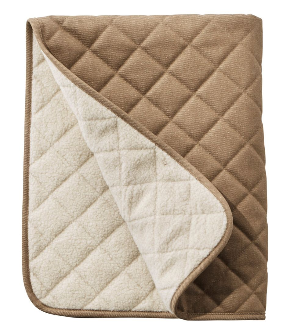 No Fly Zone Rugged Quilted Dog Blanket