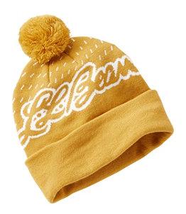 Adults' Katahdin Pom Hat, L.L.Bean Logo
