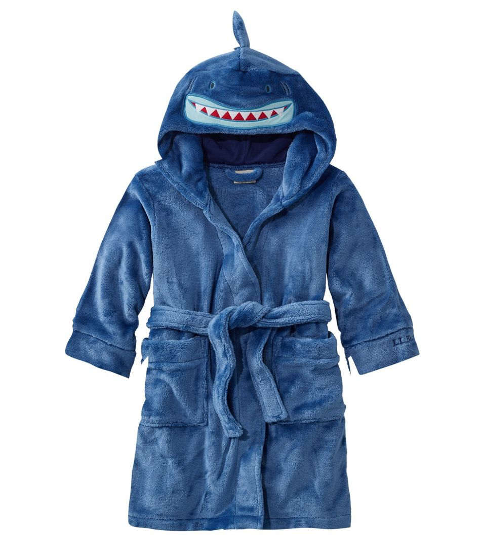 Toddlers' Cozy Animal Robe, Hooded