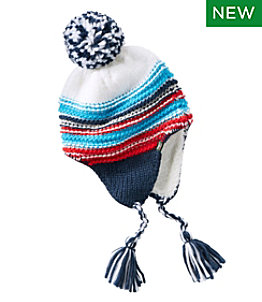 Kids' Stripe Peruvian Hat