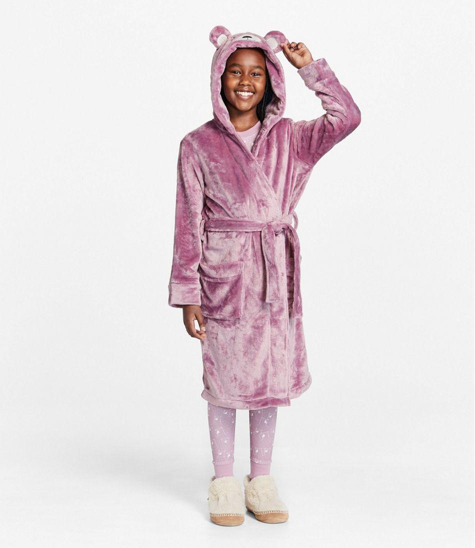 Kids' Cozy Animal Robe, Hooded