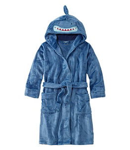 Kids' Cozy Animal Robe, Hooded