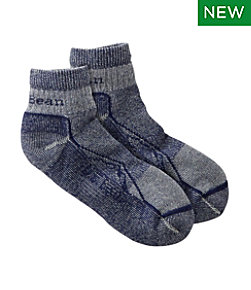 Adults' Cresta Wool No Fly Zone Lightweight Hiking Socks, Quarter-Crew