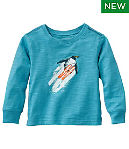 Infants' & Toddlers' Graphic Tee II, Long-Sleeve