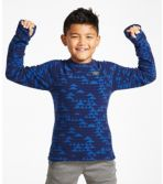 Kids' Fitness Fleece Tee, Long-Sleeve