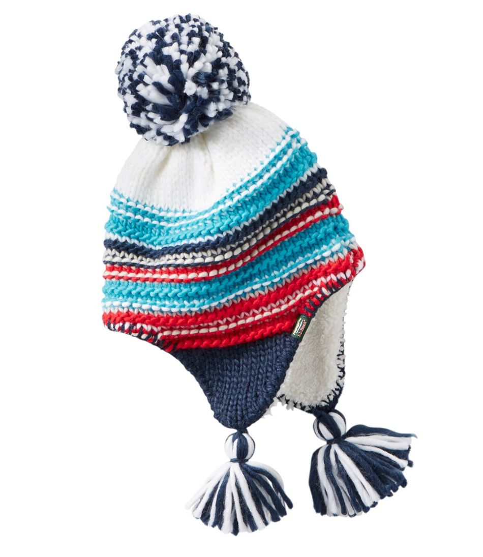 Toddlers' Stripe Peruvian Hat