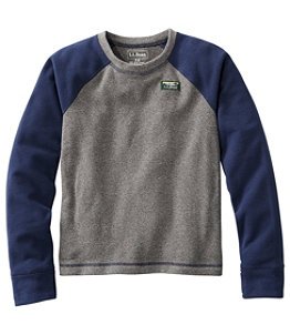 Kids' Fitness Fleece, Long-Sleeve Colorblock