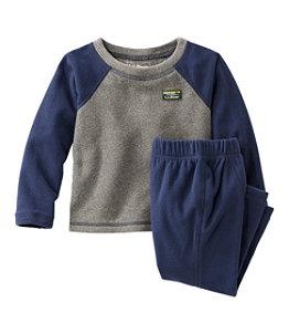 Toddlers' Fitness Fleece Long-Sleeve Tee/Pants Set, Colorblock