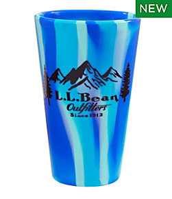 L.L.Bean Silipint Pint Glass, Outfitters