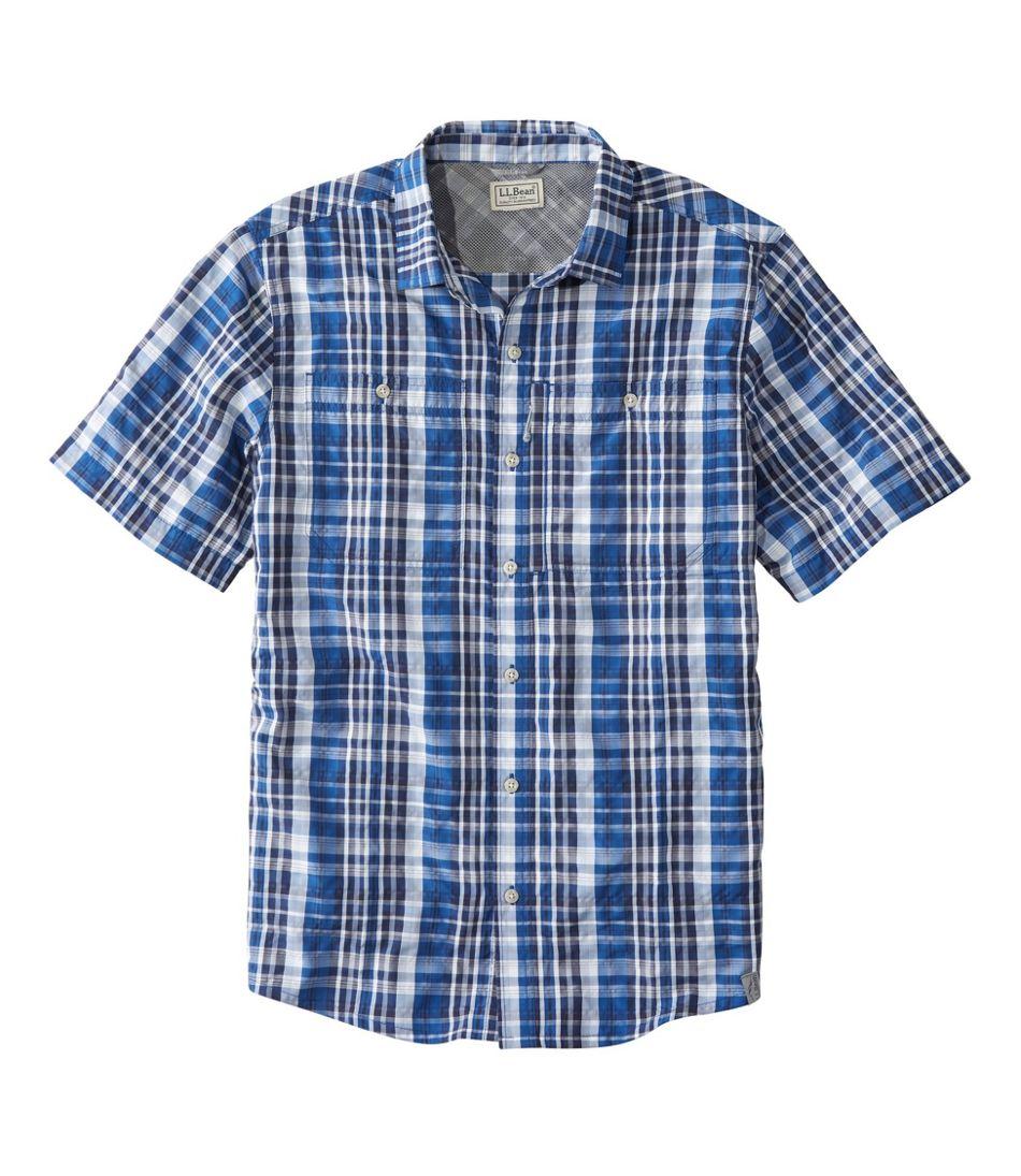 Men's Cool Weave Shirt, Short Sleeve