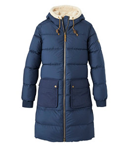 Women's Mountain Classic Down Coat, Sherpa-Lined