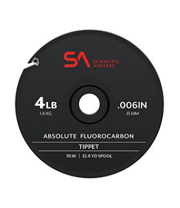 Scientific Anglers Absolute Fluorocarbon Tippet, 30 Meters