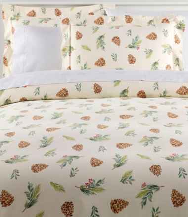 Evergreen Flannel Comforter Cover Collection