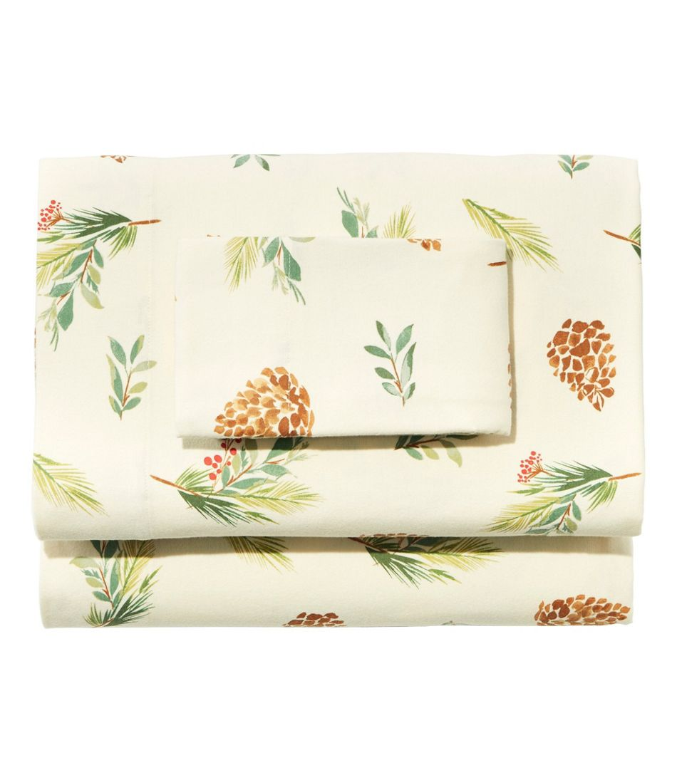 Evergreen Flannel Sheet Collection