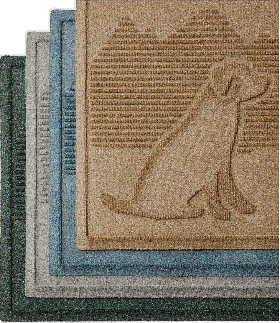 Everyspace Recycled Waterhog Doormat, Dog Friends
