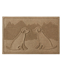 Everyspace Recycled Waterhog Doormat, Dog Friends