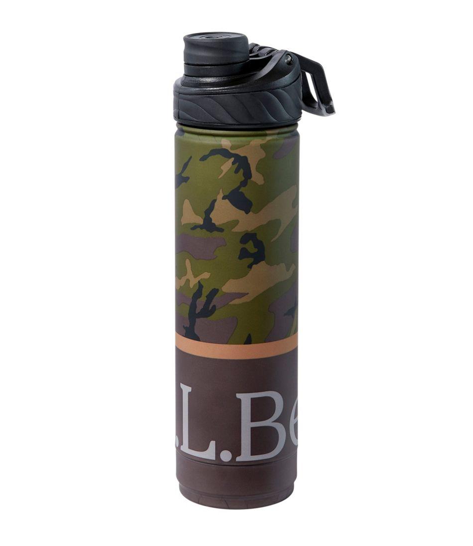 L.L.Bean Canteen Insulated Water Bottle, Print 26 oz.