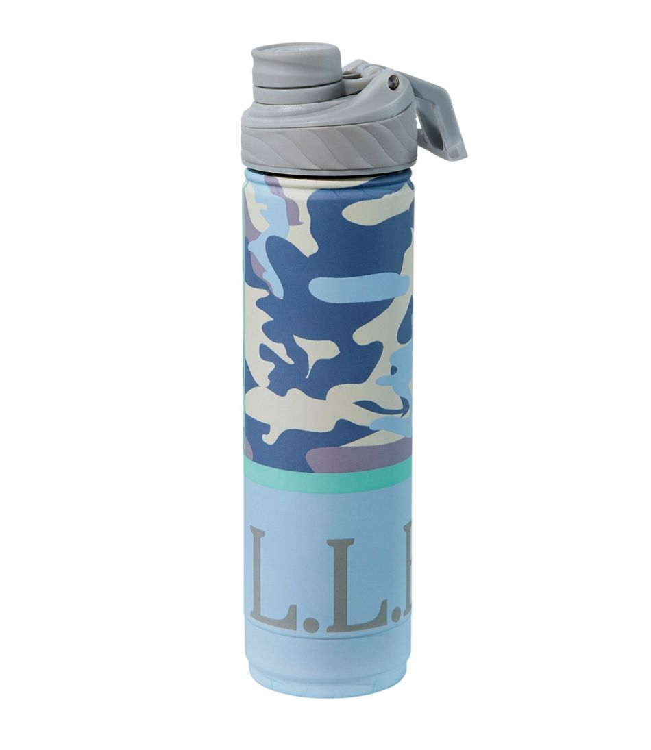 L.L.Bean Canteen Insulated Water Bottle, Print 26 oz.