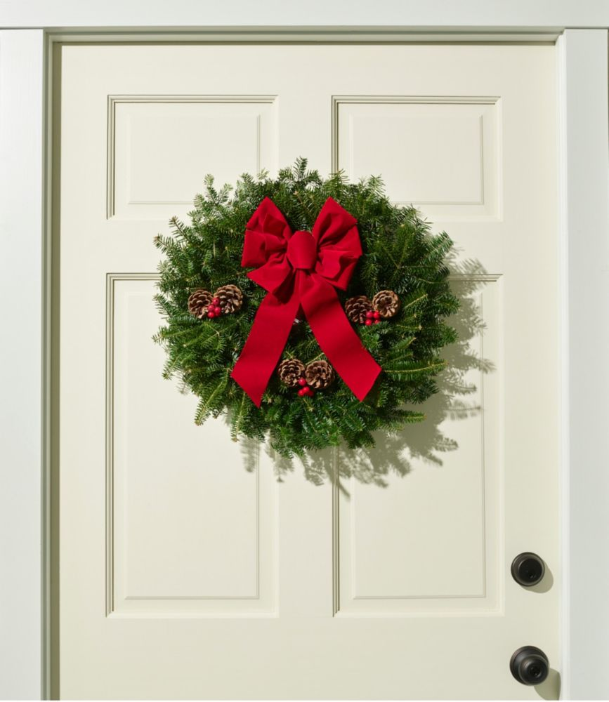 "Traditional Balsam Wreath, 20"""