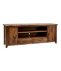 Rustic Wooden Entertainment Console, 6'