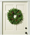 """Woodland Berry Wreath, 20"""", One Color, small image number 0"""