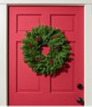 """Woodland Berry Wreath, 20"""", One Color, small image number 1"""