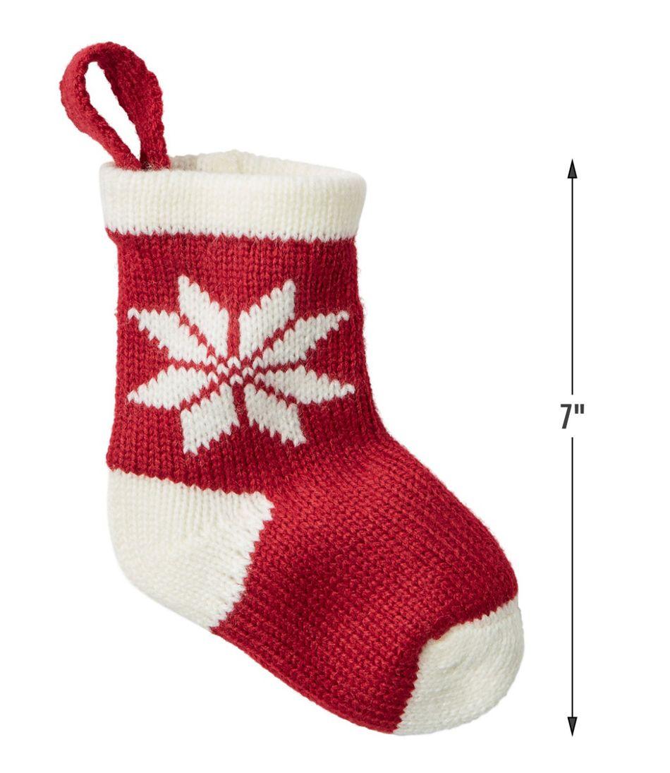 Mini Knit Stocking