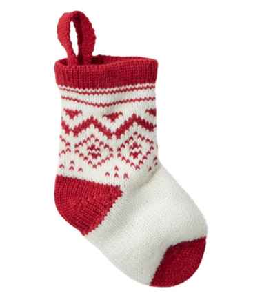 Mini Knit Stocking