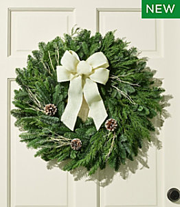 Winter Woods Wreath, 24""