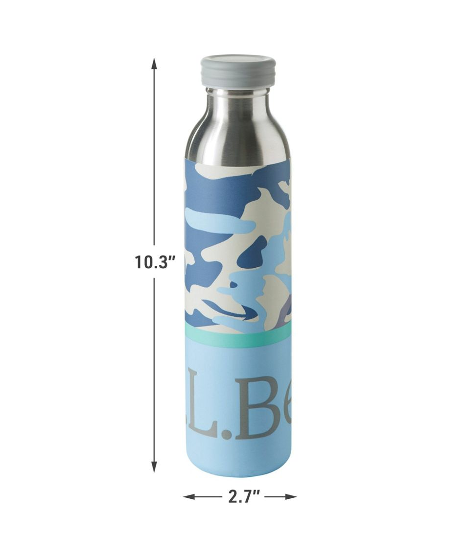 L.L.Bean Original Insulated Water Bottle, Print 20 oz.