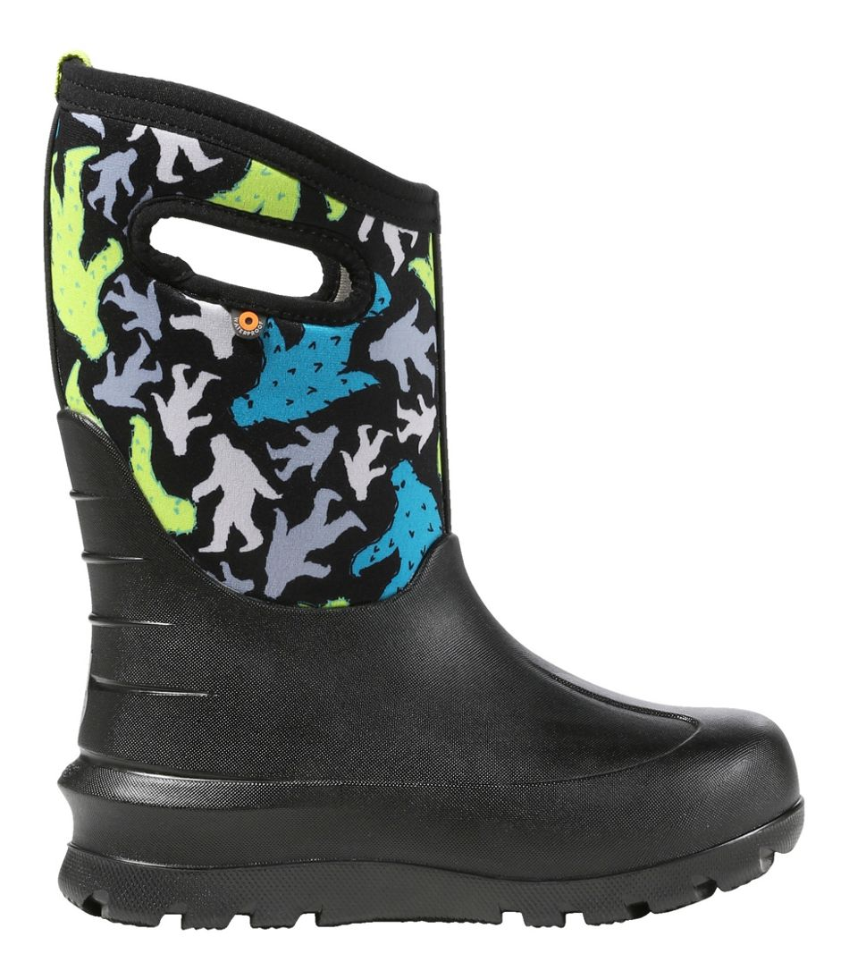 Kids' Bogs Neo Classic Bigfoot Black Boots