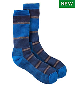 Men's SmartWool Medium Hiking Crew Socks, Striped