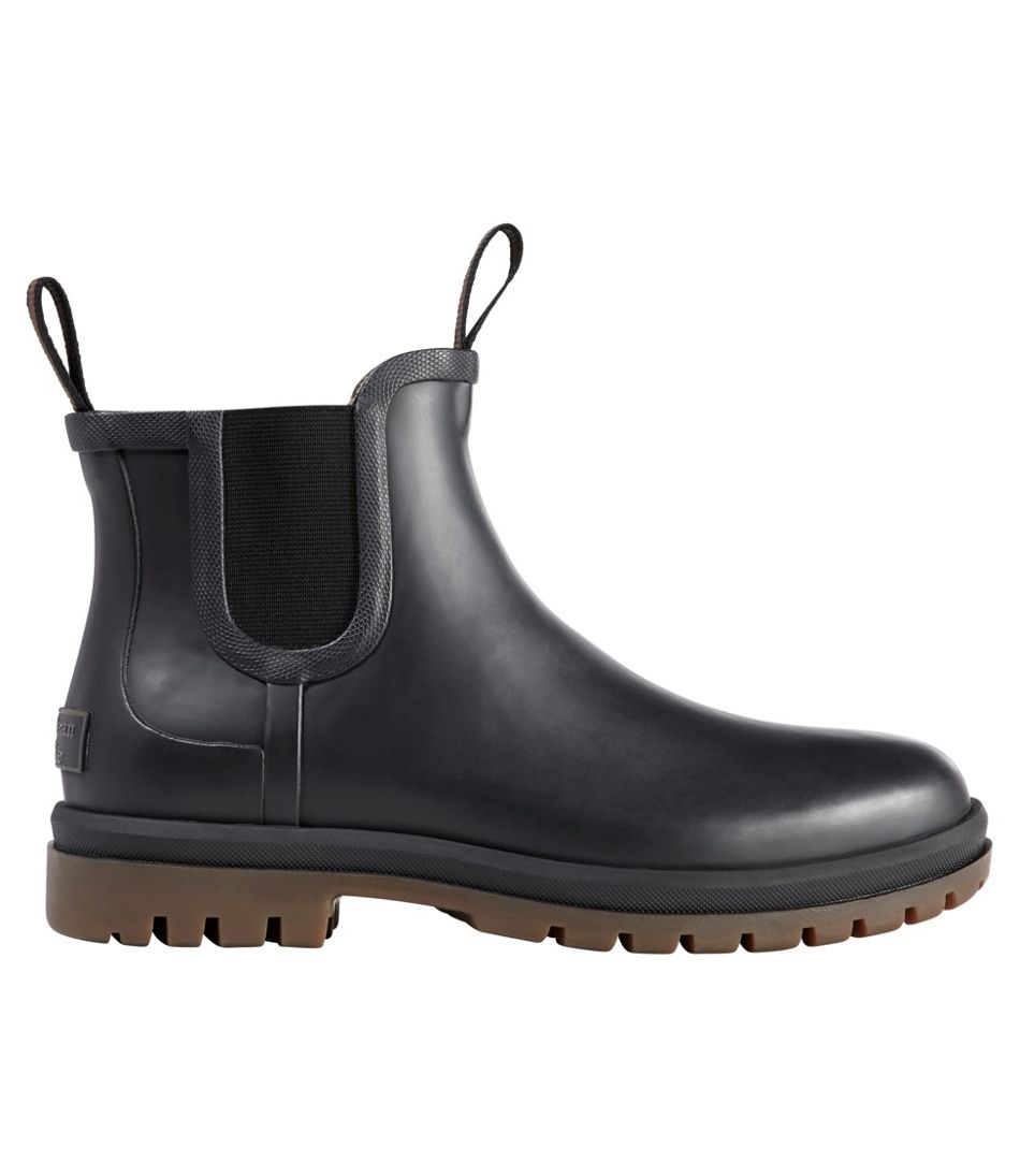 Women's Rugged Wellie Chelsea Boots