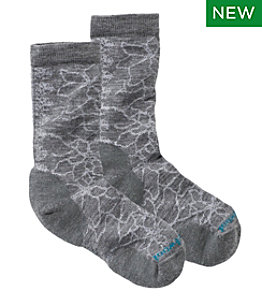 Women's SmartWool Poinsettia Graphic Crew Sock