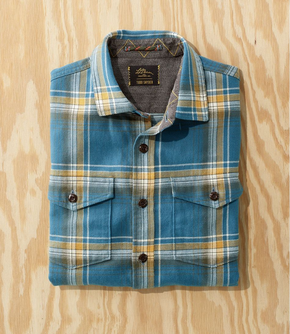 Men's L.L.Bean x Todd Snyder Heavyweight Plaid Shirt