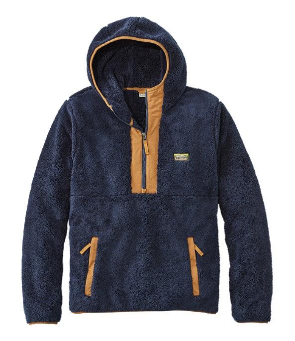 L.L.Bean Hi-Pile Fleece Hooded Pullover, , large image number 0