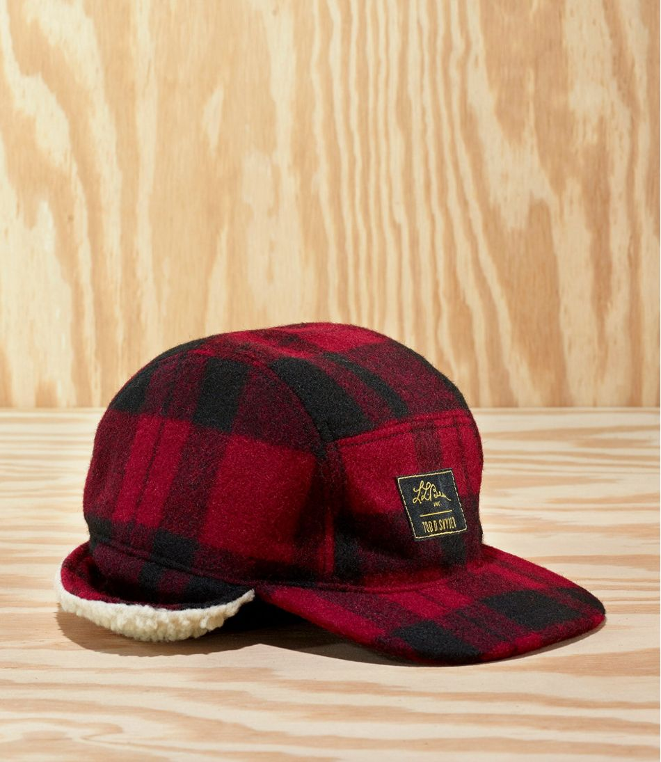 Men's L.L.Bean x Todd Snyder Sherpa-Lined Hunting Cap