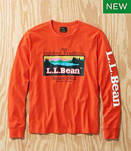 Men's L.L.Bean x Todd Snyder Graphic T-Shirt, Long-Sleeve
