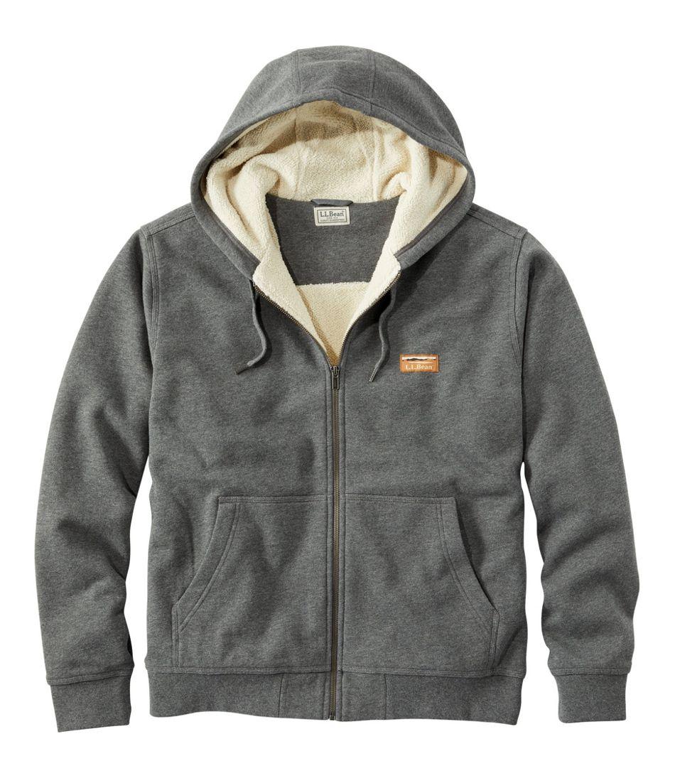 Men's Katahdin Iron Works Hooded Sweatshirt, Fleece-Lined