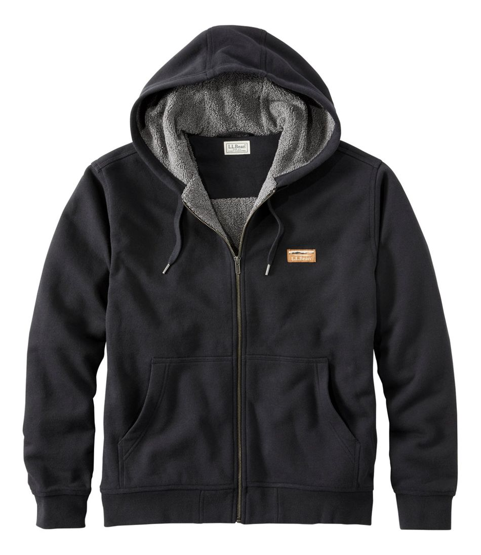 Men's Katahdin Iron Works Hooded Sweatshirt, Fleece-Lined
