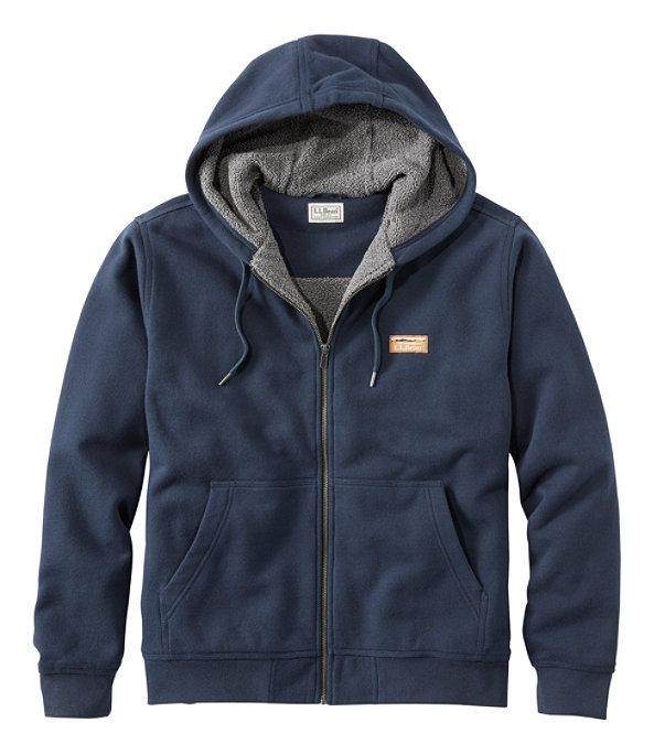 Katahdin Ironworks Sweatshirt, Fleece-Lined Hoodie, , large image number 0